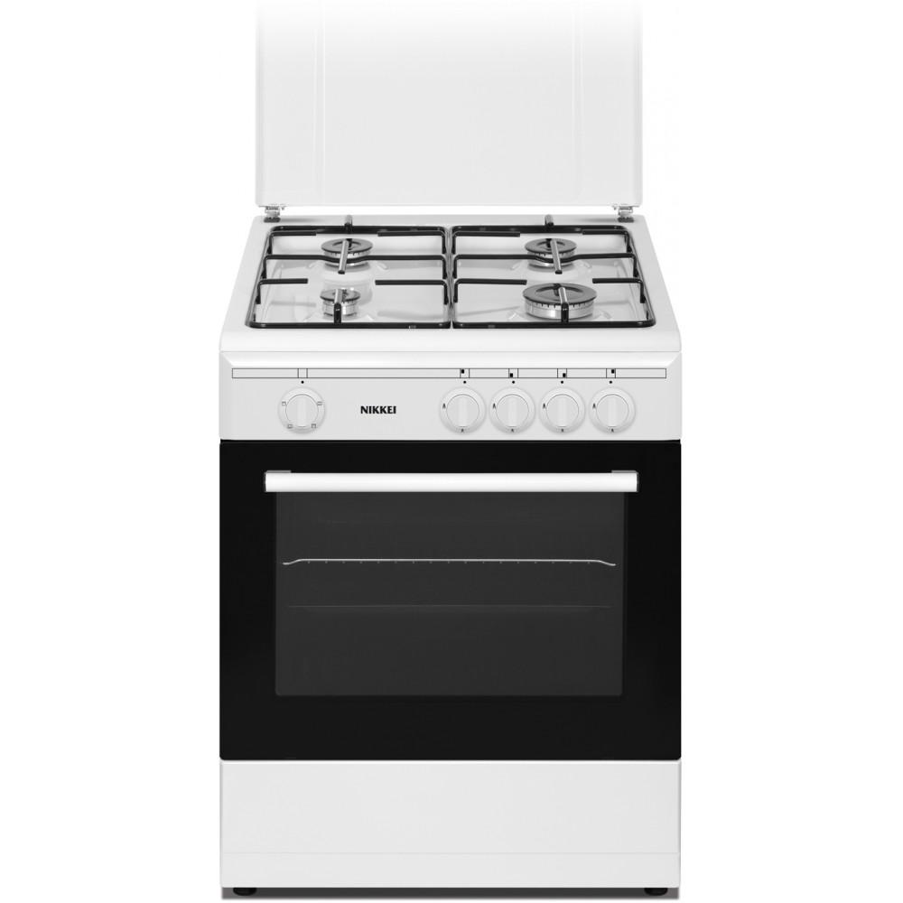 Cucina SN664WGE | 60x60 cm, forno a gas